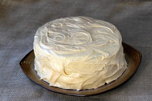 Pumpkin Cheesecake Cake 6