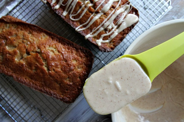 Spiced Pear Cake with Browned Butter Icing 4