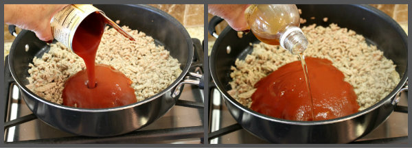 Turkey Sloppy Joe Sliders recipe from RecipeGirl.com