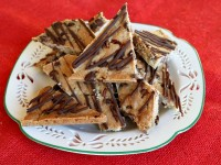 Chocolate Chip Cookie Brittle 1