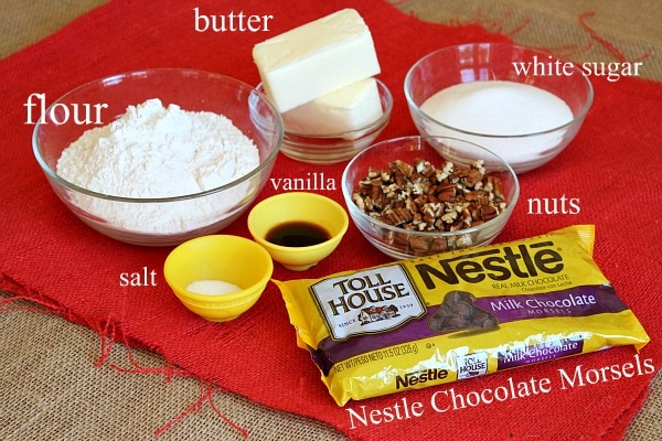 Easy Chocolate Chip Cookie Recipe With Little Ingredients