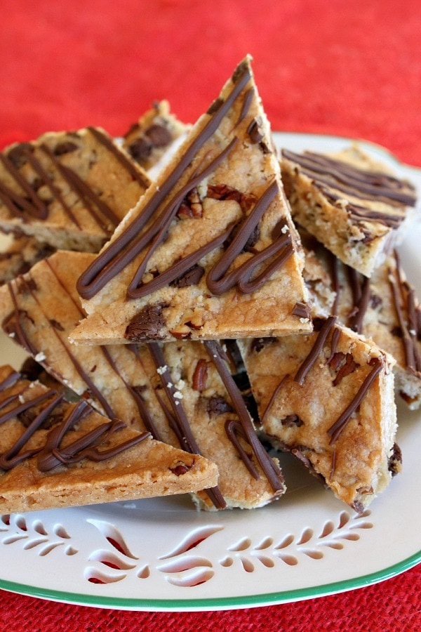Chocolate Chip Cookie Brittle Recipe — Dishmaps