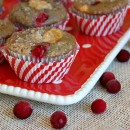 Cranberry Cheesecake Muffins 1