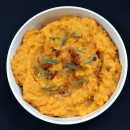 Mashed Sweet Potatoes with Caramelized Onions 1