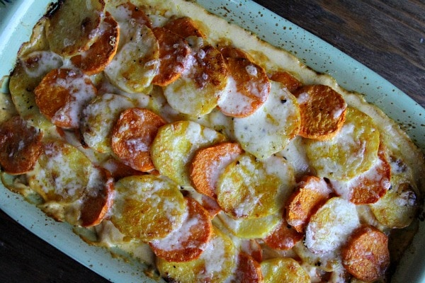 Pumpkin Scalloped Potatoes 1