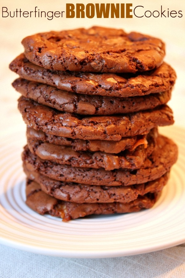 how to make brownie cookies from a box