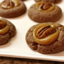 Chocolate Turtle Cookies 1