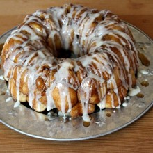 Eggnog Monkey Bread 1