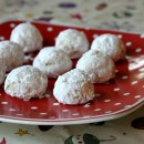 Gluten Free Orange Almond Snowballs