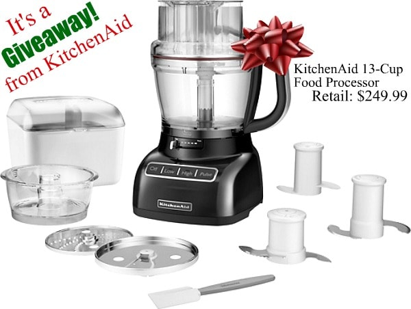 Kitchenaid Food Processor Review And Giveaway