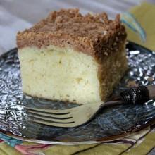 Martha's Classic Crumb Cake 1