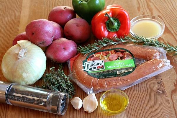 Sausage and Potato Bake