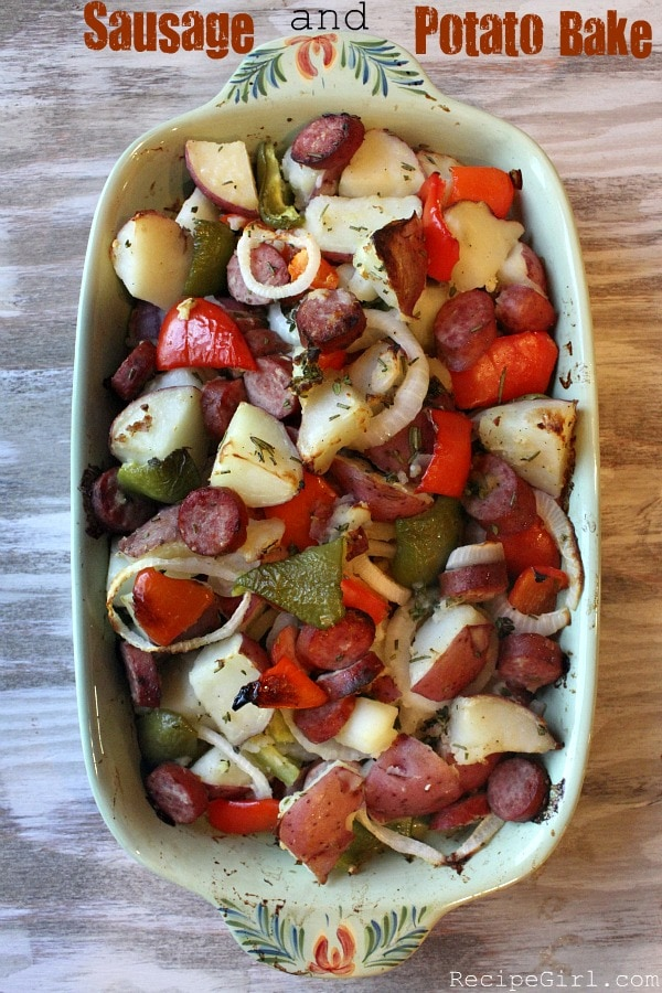 Sausage And Potato Bake Recipe — Dishmaps
