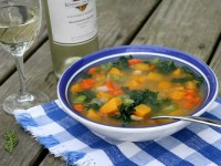 Butternut Squash and Kale Soup 1
