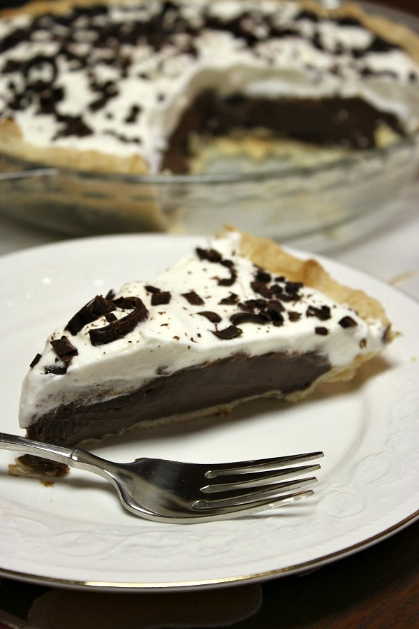 few final reasons why Chocolate Cream Pie is an especially good idea ...