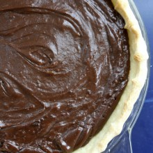 Chocolate Cream Pie - RecipeGirl.com