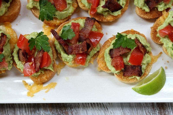 Grilled Cheese Guacamole and Bacon Bruschetta - MomsGuideBook ...