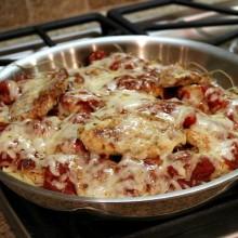 Skillet Chicken Parmesan 1