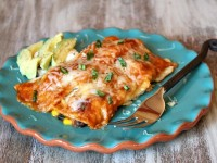 Vegetable Enchiladas 1