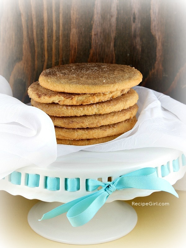 Cinnamon- Vanilla Monster Cookies - RecipeGirl.com