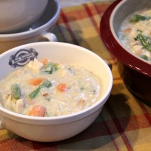 Creamy Chicken and Rice Soup 2