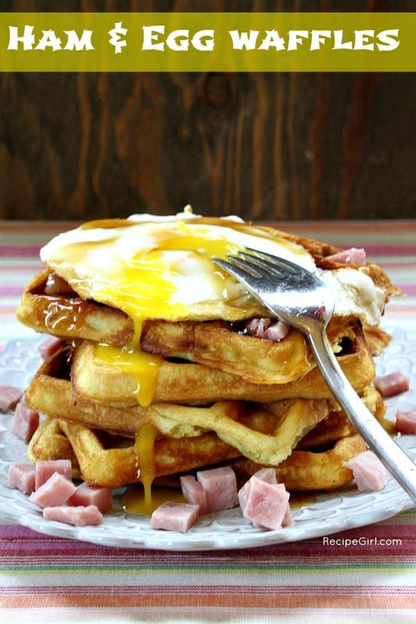 Ham & Egg Waffles
