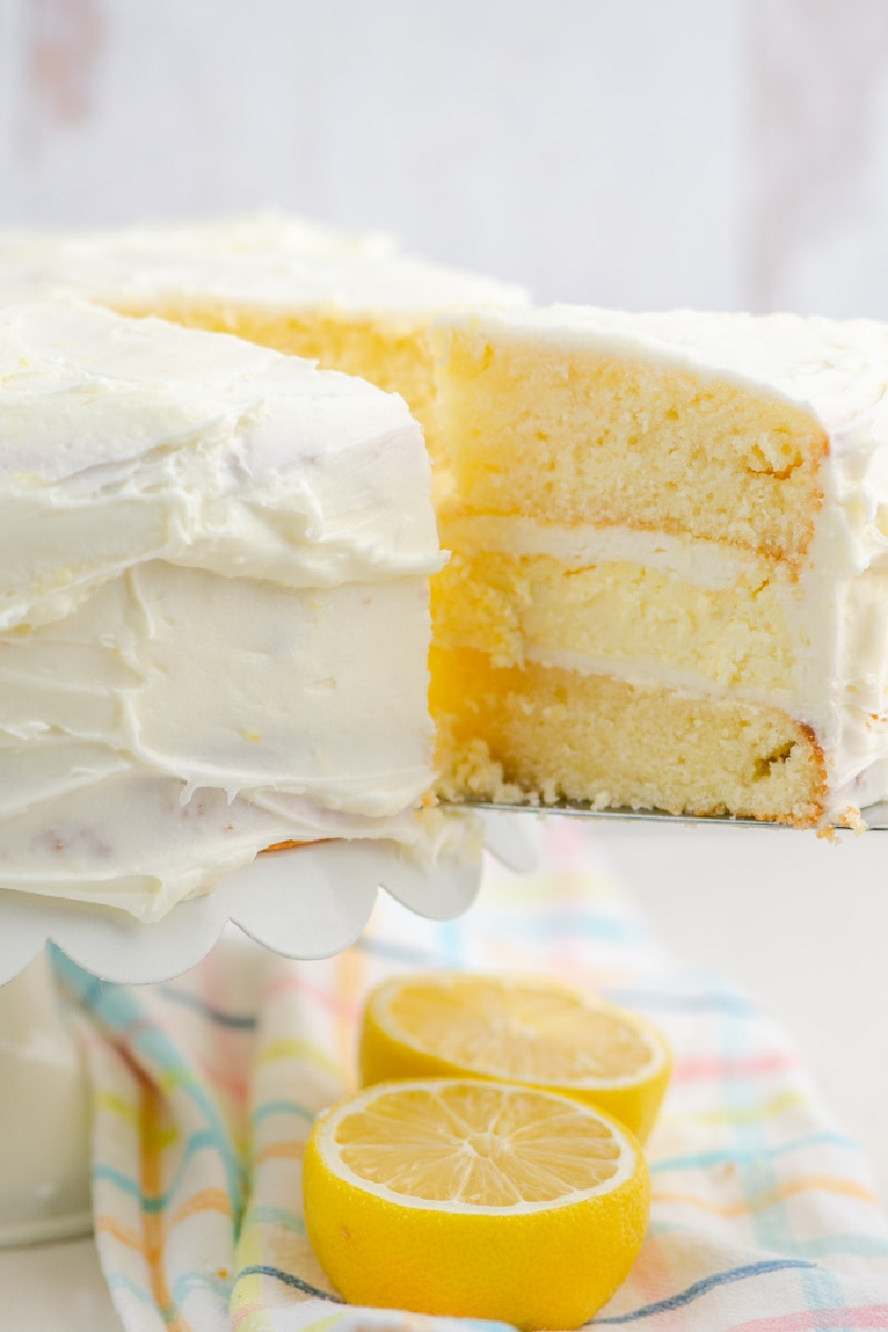 lemon cheesecake cake