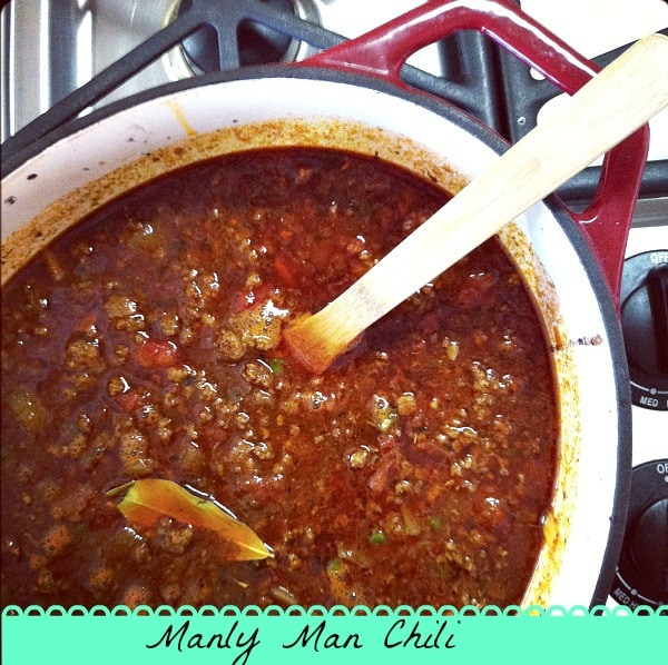Manly Man Chili