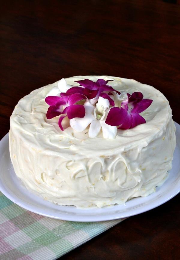 Meyer Lemon Cheesecake Cake ~ 162105_Lemon Cake Decoration Ideas