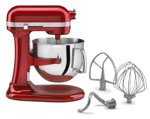 Kitchenaid 7-Quart Stand Mixer + Recipe Girl Cookbook Giveaway