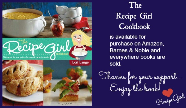 Recipe Girl Cookbook Availability