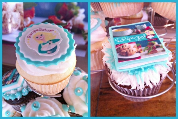 Recipe Girl Cookbook Cupcakes