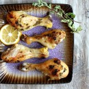 Sweet Lemon Glazed Drumsticks