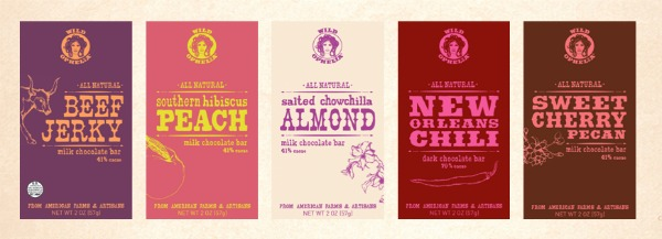 Wild Ophelia Chocolate bars