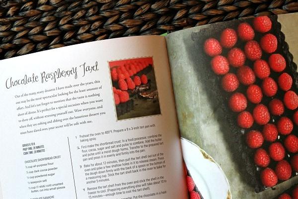 Heather Christo Chocolate Raspberry Tart