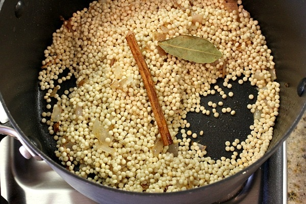 Israeli Couscous with Pine Nuts and Parsley 3