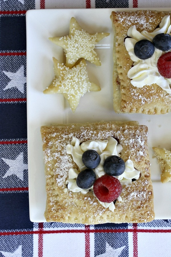Patriotic Pastries - RecipeGirl.com