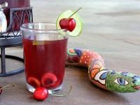 Cherry- Limeade Sangria - RecipeGirl.com