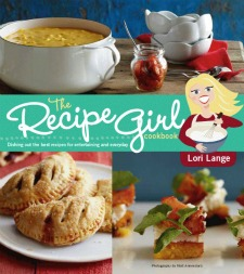 RecipeGirl Cookbook Cover 225