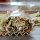 Roasted Vegetable Lasagna Roll Ups 4
