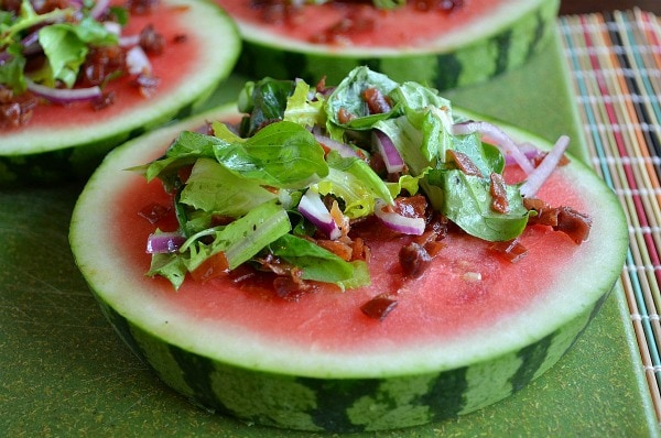 Watermelon Plate Salad