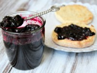 Blueberry Refrigerator Jam - RecipeGirl.com 1