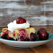 Easy Cherry Cobbler Recipe 1
