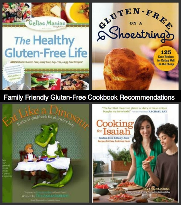 Family Friendly Gluten Free Cookbook Recommendations