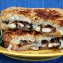 Mushroom Grilled Cheese with Balsamic Caramelized Onions 1