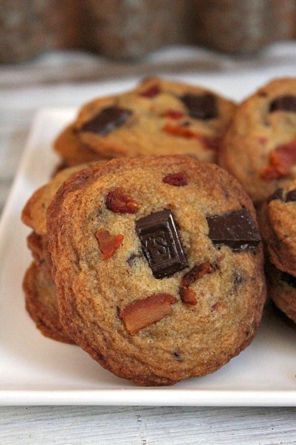 Bourbon Bacon Chocolate Chunk Cookies