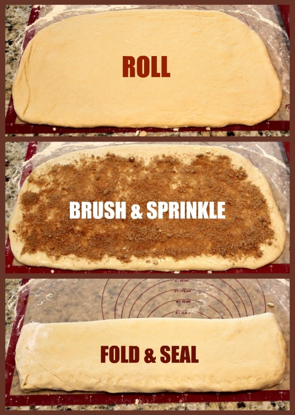 Cinnamon Twist Pastries - Preparation