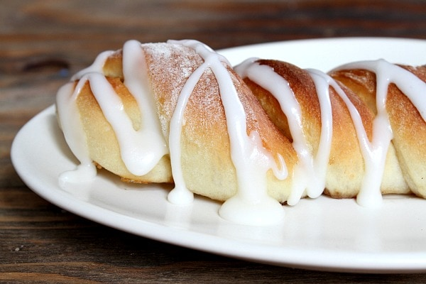 Cinnamon Twist Pastries