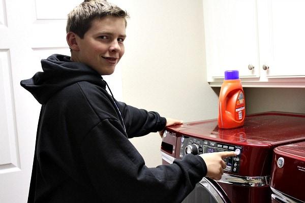 GE Washer Dryer 8