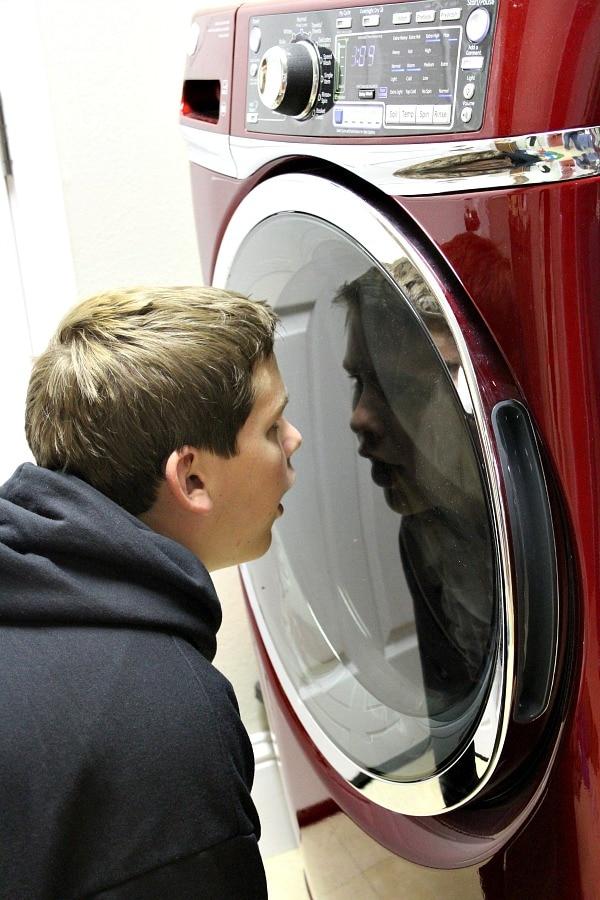 GE Washer Dryer 9